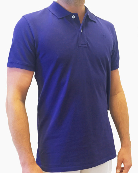 Derycke polo-purple